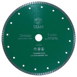 DIAM Turbo Grinder 000247 алмазный круг для гранита 75*1,6*5,0*М14 с фланцем Diam По граниту Алмазные диски